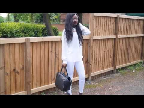All white outfit of the day – ASOS IT