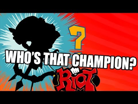 WHO'S THAT CHAMPION?