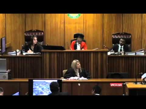 Pistorius Trial: Oscar's neighbour re-enacts crying she heard
