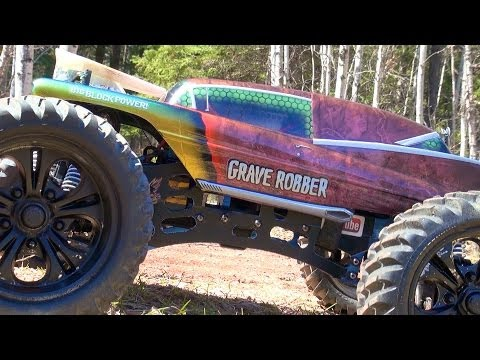 RC ADVENTURES – GRAVE ROBBER – CEN MONSTER 4X4 TRUCK GST-E