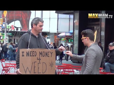 Smoking Weed with New Yorkers Prank