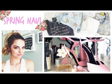 HAUL: TOP SHOP, FOREVER21 & MEETING YOU? ⎟Allie Evans