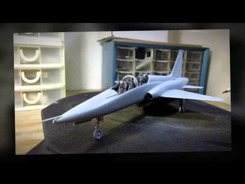 Building Trumpeter T-38A Talon. From Start to Finish. In 1/48 Scale