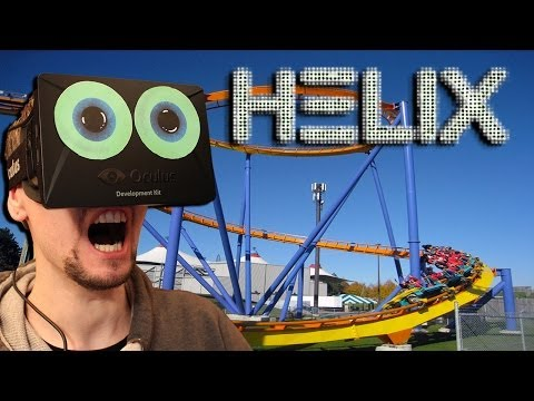CRAZIEST ROLLERCOASTER | Helix the Next Level with the Oculus Rift