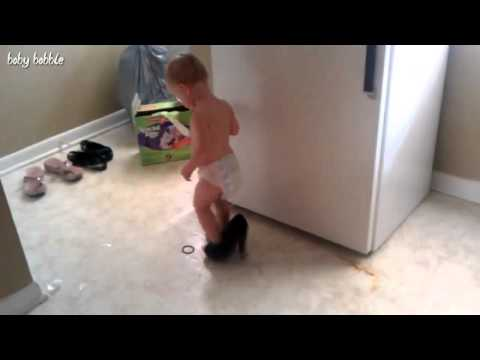 Babies Walking for the First Time Compilation 2013 NEW HD] YouTube