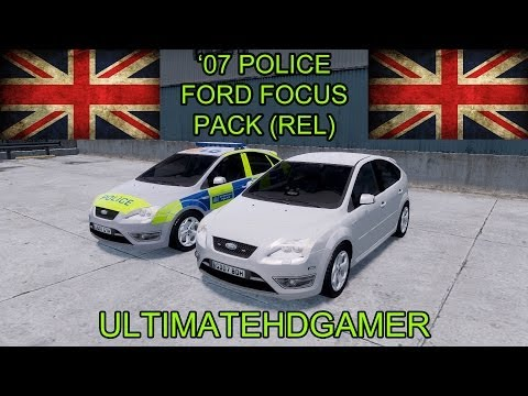 2007 Police Ford Focus Pack