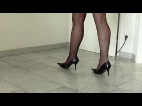Black High Heels | Black Stiletto | Nylon and High Heels