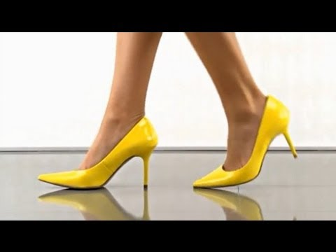 High Heels and Stiletto yellow pink golden red white black