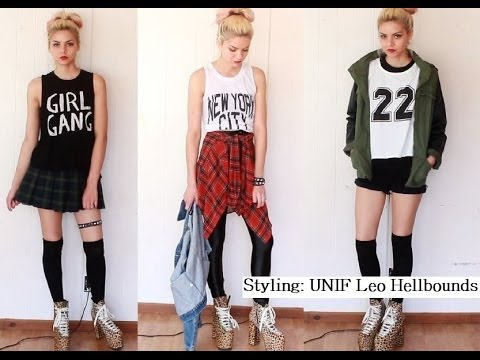 How I style my UNIF Leo Hellbounds