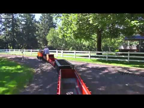 Property for sale w/ epic scale train layout