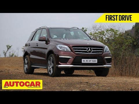 Mercedes Benz ML 63 AMG | First Drive Video Review | Autocar India