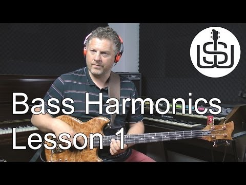 Harmonics for Bass by Scott Whitley – Lesson 1 False/Artificial Harmonics
