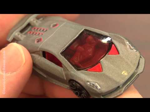 CGR Garage – LAMBORGHINI SESTO ELEMENTO Hot Wheels review