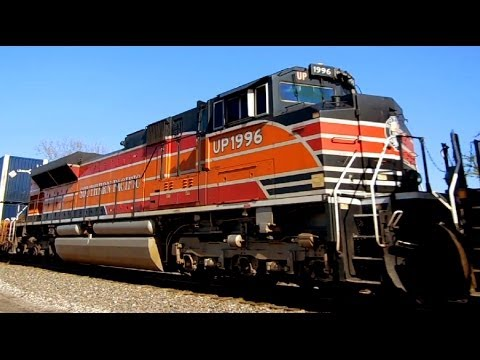 Heritage: Union Pacific's Southern Pacific SD70ACe #1996 pt. II