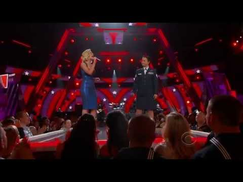 Kelly Pickler Baily Zimmerman – Red High Heels – ACM Salute To The Troops