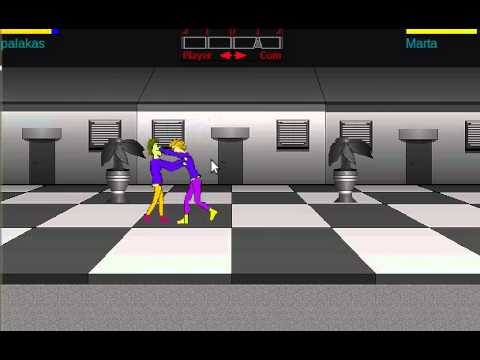 Game maker fighting game