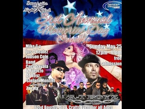 3rd Annual Memorial Day Concert Sunday May 25, 2014 San Ange