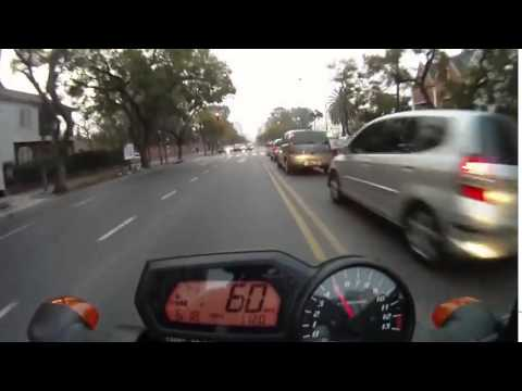 FZ1 vs R1, FZ6 & Suzuki on street race ! ByKayseri !