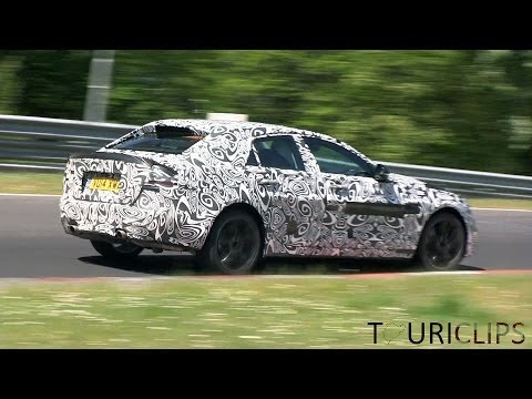 2015 Jaguar XE V6 spied testing on the Nürburgring!
