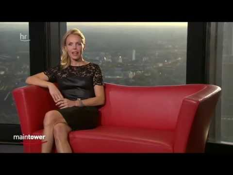 Petra Neftel   sexy black Leather Dress & High Heels 08 09 2012