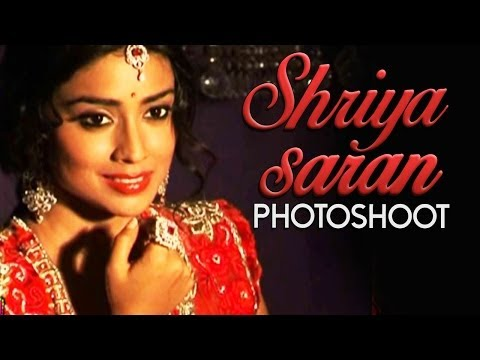 Shriya Saran Photoshoot By The Luv Israni In Bridal Dress | Bollywood Photoshoot