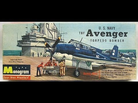 Monogram 1/48 U.S Navy TBF Avenger Final Reveal