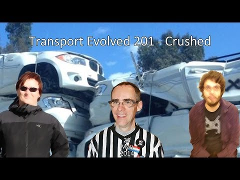 Transport Evolved Electric Car News Panel Show 201: Crushed