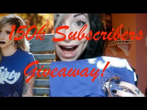 150,000 Subscriber Giveaway!