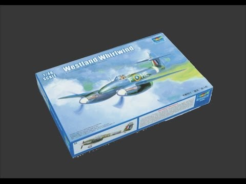 Trumpeter 1/48 Westland Whirlwind Scale Model Review
