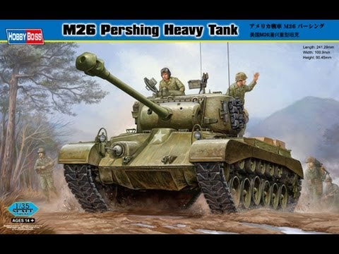 Inbox Review of Hobby Boss 1/35 M26 Pershing Heavy Tank
