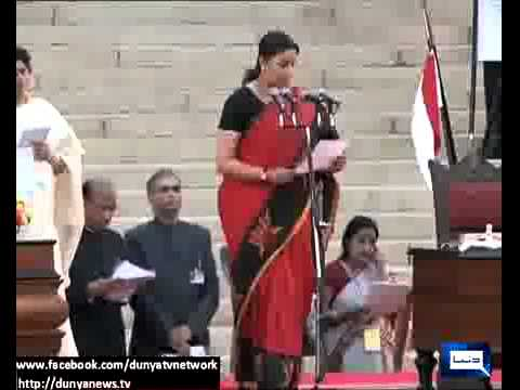 Dunya News Smriti Irani: From model to TV's favourite bahu to Cabinet minister