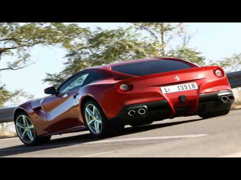 ferrari F12 berlinetta loud start up, huge acceleration, awesome sound !!! and more superc
