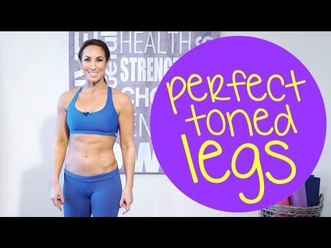 Best Exercises To Get Perfect Toned Legs For Summer | with Natalie Jill!