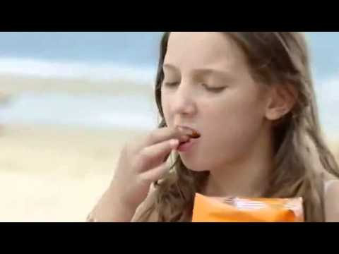 Father's Bikini Burn Hilarious Cheetos TV Commercial