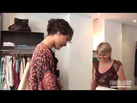 Shopping with Shalom Harlow – From the Videofashion Vault