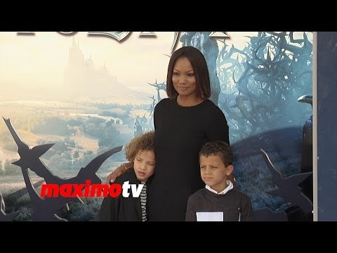 "Garcelle Beauvais ""Maleficent"" World Premiere in Los Angeles"