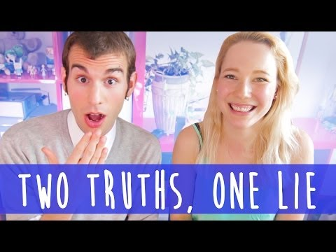 TWO TRUTHS, ONE LIE W/ JAKE (Vsauce3) | Totally Tanja