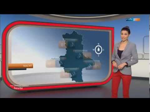 Staphanie Meissner   red tight Leather Pants & High Heels 05 01 2014 part 1