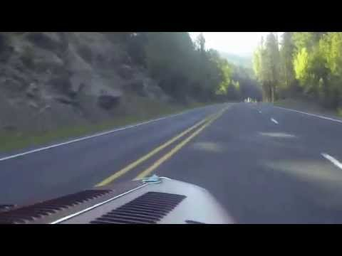 Driving over Blewett Pass to Early Ford V8 Picnic 2014