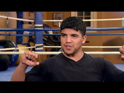 Victor Ortiz on Growing Up In Kansas   Mario Lopez: One On One
