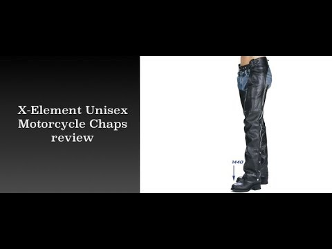 New XElement 7550 Leather Chaps from LeatherUp.ca