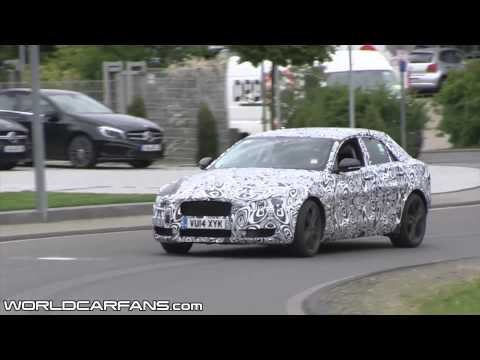 2015 Jaguar XE spied in action