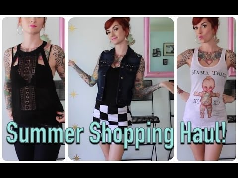 Pretty Summer Pinup Shopping Haul by CHERRY DOLLFACE