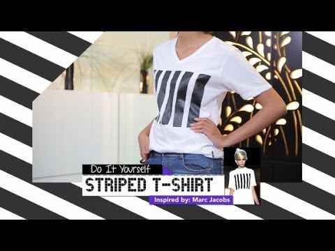 iLook – DIY – Striped T-Shirt