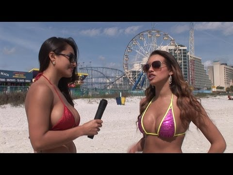 Bikini Beach – Nikki Rae interviews Angelina