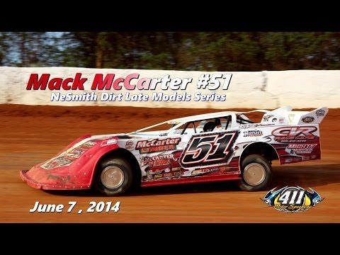 Mack McCarter #51 In Car Camera Action