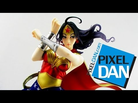 Kotobukiya DC Comics Armored Wonder Woman Bishoujo 1/7 Scale Statue Video Review