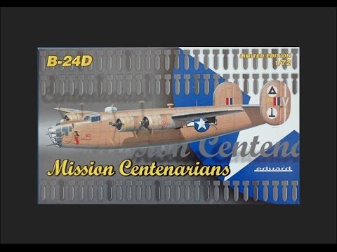 Eduard 1/72 B-24D Mission Centenarians Ltd Edition