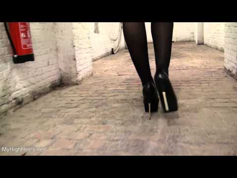 High heels walking – stiletto shoes 2