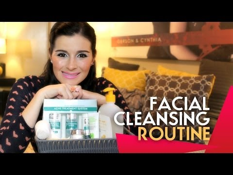 FACIAL CLEANSING ROUTINE VIDEO BY CYN BEAUTY